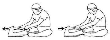 Растяжка икроножной и камбаловидной мышц по методу ПНС